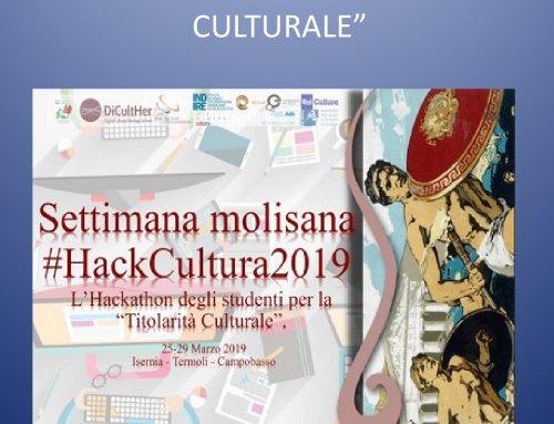 SETTIMANA MOLISANA #HACKCULTURA2019