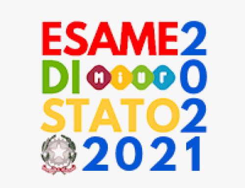 ESAMI DI STATO 2020 -2021