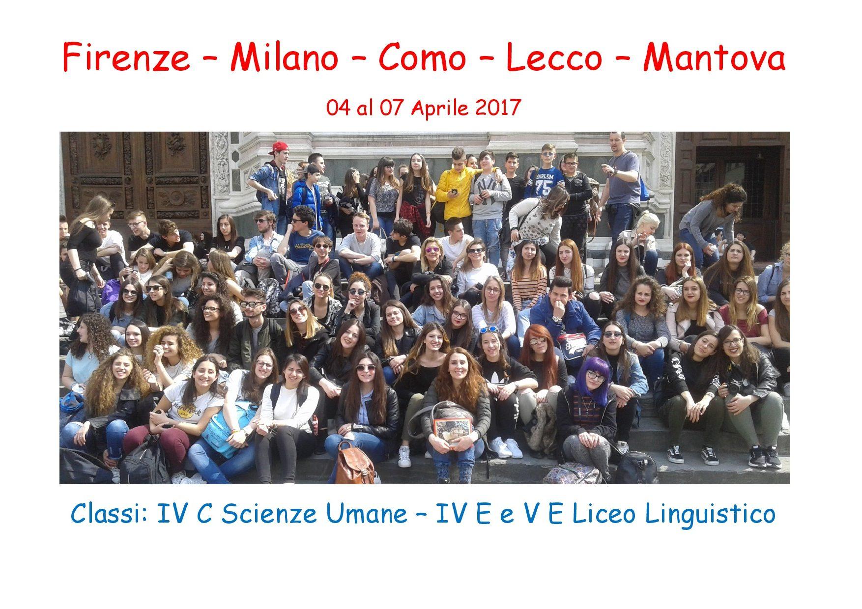 viaggio di istruzione Milano-Como