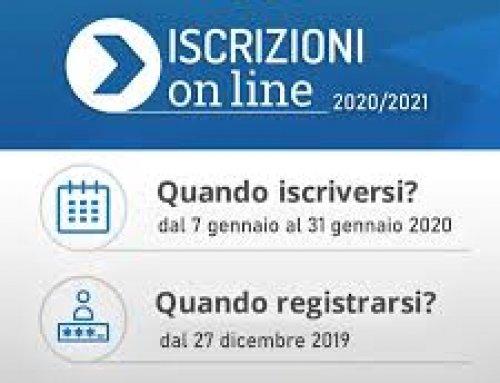 ACCEDI PER EFFETTUARE L'ISCRIZIONE ALLE CLASSI PRIME 2020/21