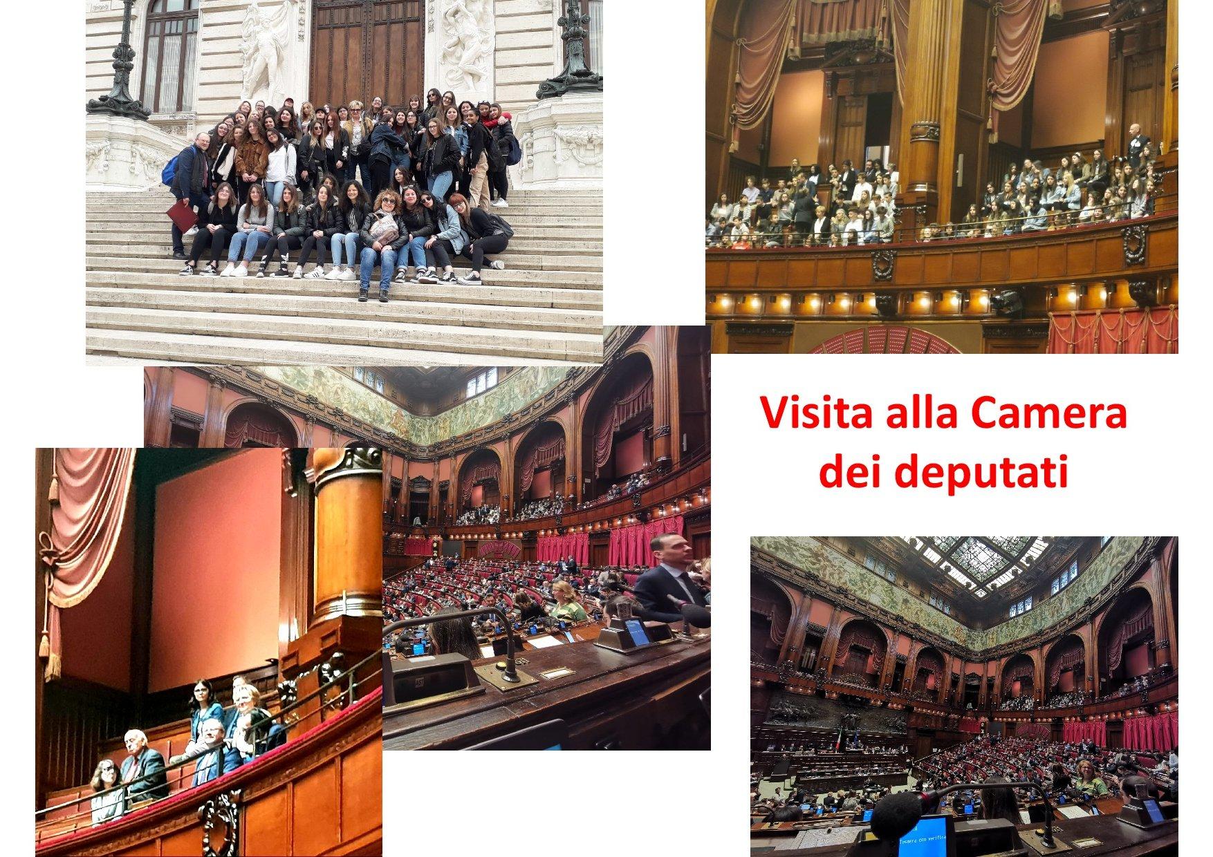 Visita alla Camera dei deputati